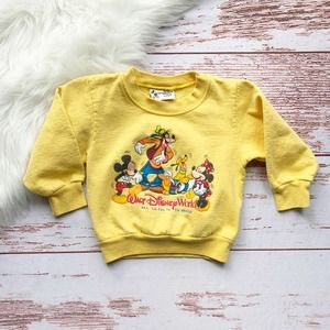 Vintage Walt Disney World Kids Sweatshirt